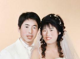 老照片合成婚紗
